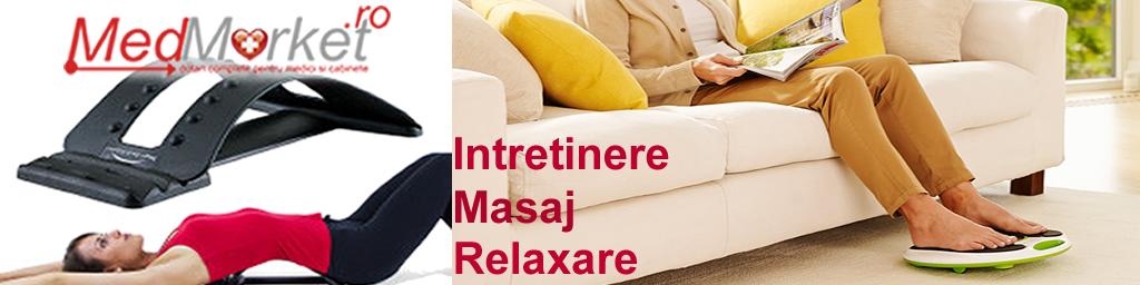 Intretinere, Masaj, Reabilitare