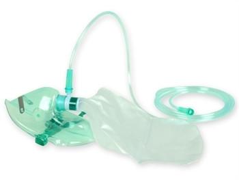 Masca de oxigen HI cu tub pentru adulti