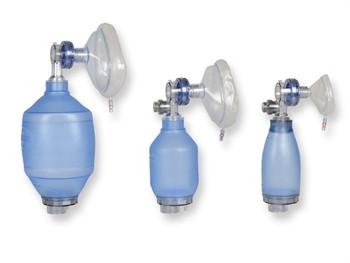 Balon de resuscitare PVC - utilizare pentru un singur pacient (nou nascut)