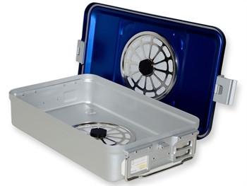 Container MEDIU sterilizare CU FILTRU si perforatii