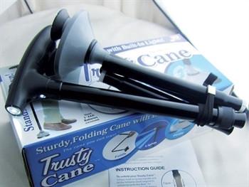 Baston aluminiu TRUSTY CANE cu led