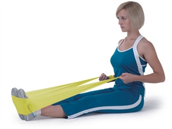 Banda elastica pentru exercitii 5.5 m