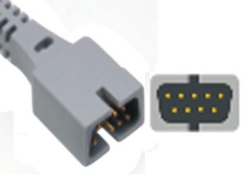 Senzor adult pentru NELLCOR OXITECH moale (cablu 0.9m)