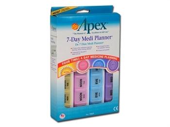 Cutie pentru medicamente 7 zile x 4 compartimente