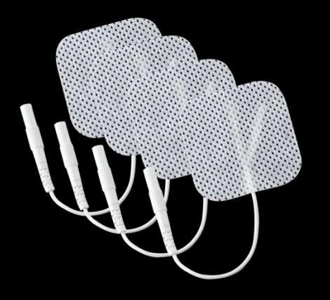 Set 4 electrozi adezivi patrati