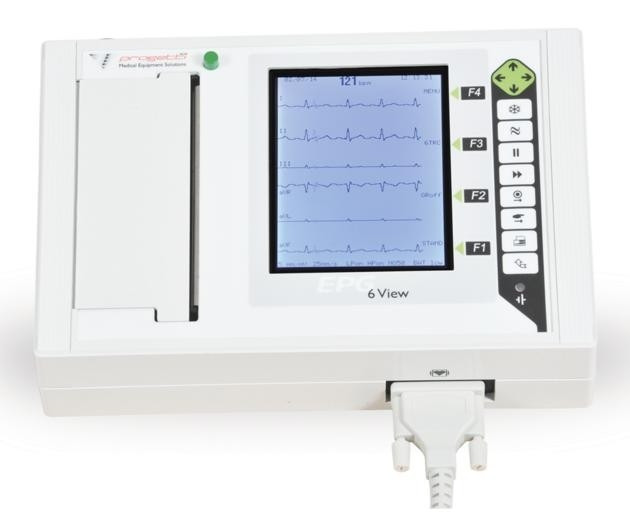 Electrocardiograf EPG 6 View