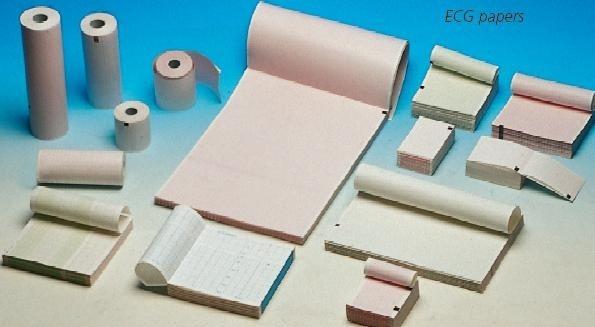 Hartie termica ECG pachet 300 file -215mmx 280mm