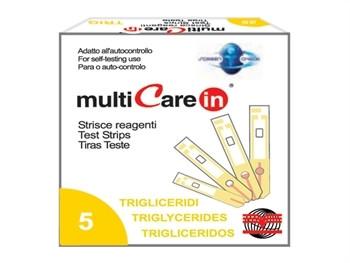 Lame de test pentru multimetru pentru trigliceride+ 1 chip
