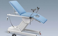 Canapea ginecologica cu coloana electrica