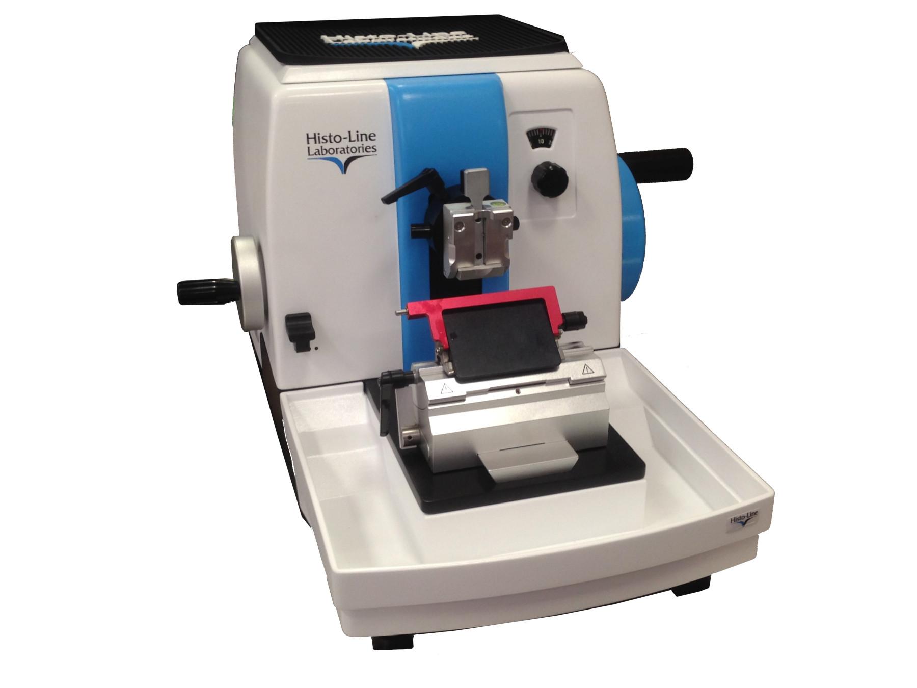 Microtom rotativ manual cu retragere