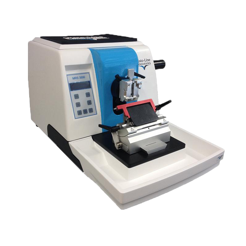 Microtom rotativ semiautomatic ultra-subtire