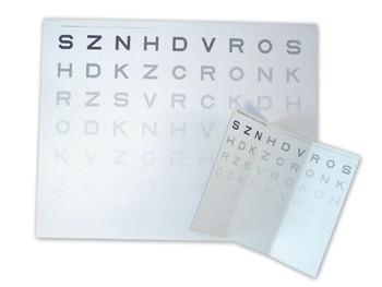 Optotip contrast senzitiv - vedere de aproape- 40 cm
