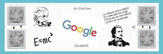AS-190-ST Sterilizator Uv Scoli