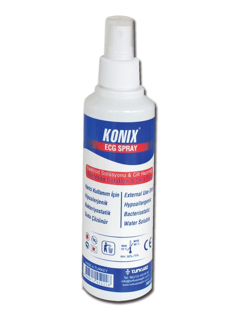 Spray gel pentru ECG - 250 ml
