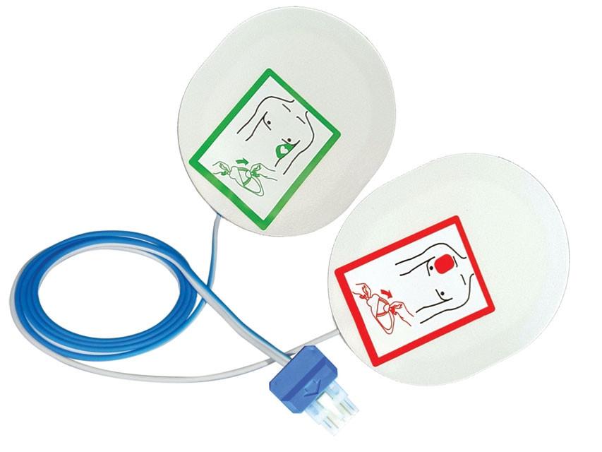 Pad-uri pentru defibrilator Esaote, Schiller