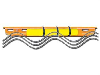 Sistem de flotatie pentru targa tip cos