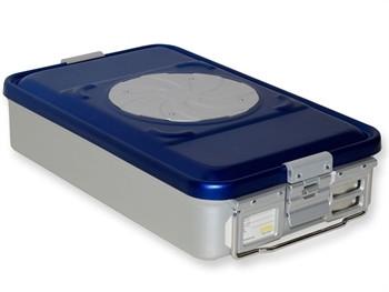 Container MEDIU sterilizare CU VALVA si perforatii