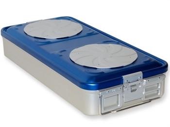 Container MARE sterilizare CU VALVA si perforatii