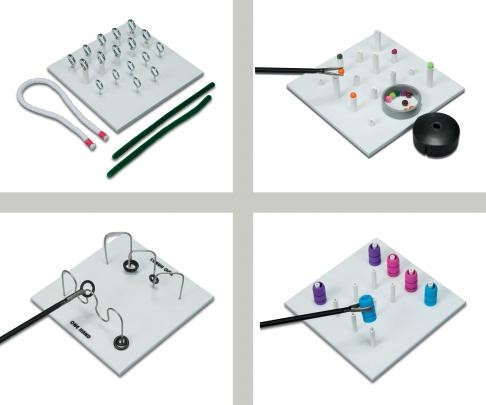 Set de sarcini pentru construirea de abilități in laparoscopie