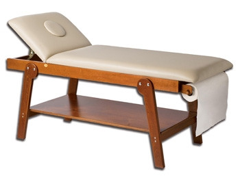 Canapea din lemn Firenze cu gaura pentru fata