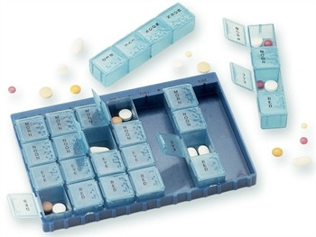 Cutie medicamente 7 zile x 4 compartimente
