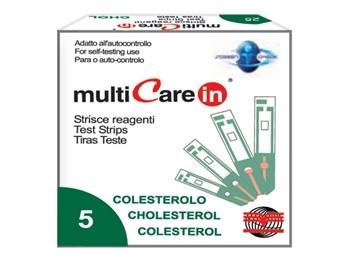 Lame de test pentru multimetru pentru colesterol+ 1 chip