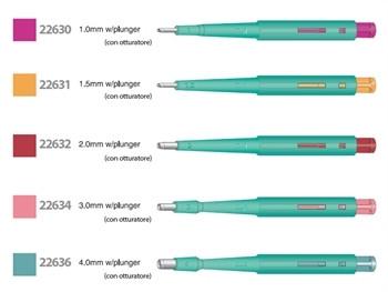 Preducea biopsie de unica folosinta cu piston