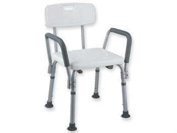 Scaun pentru dus cu suport pentru brate