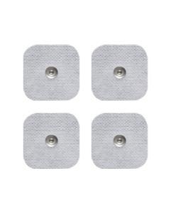 Set 4 electrozi adezivi patrati cu capsa