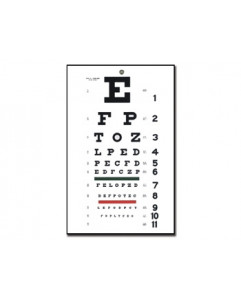 Tabel optometric TRADITIONAL SNELLEN