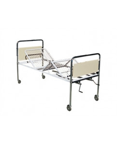 Pat medical cu 3 articulatii cu rotile