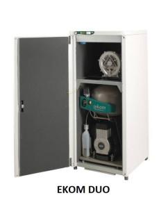 Compresor cu pompa de vacuum EKOM DUO