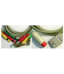 Kit veterinar cablu 3 fire si conectori (model vechi inainte de 2006)