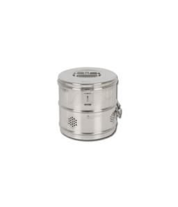 Cutie rotunda de sterilizare diametru 180 mm