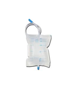 Punga urina 2000 cc - tub 90 cm cu valva non-retur