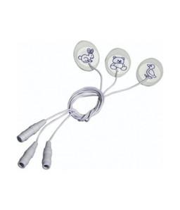 Electrozi pediatrici ovali cu fir
