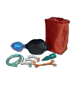 Kit balon de resuscitare cu camera dubla - adult