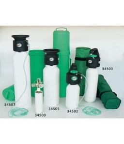 Butelii de oxigen cu reductor presiune - standard UNI (GOL)