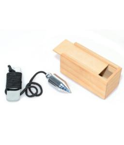 Greutati din plumb in cutie din lemn