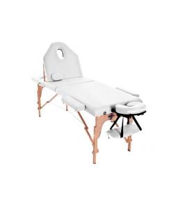 Masa de masaj pliabila cu spatar rabatabil