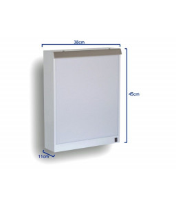 Negatoscop de perete 38 x 45 cm