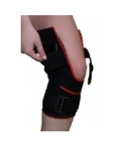 Orteza de genunchi mobila cu suport rotulian deschis