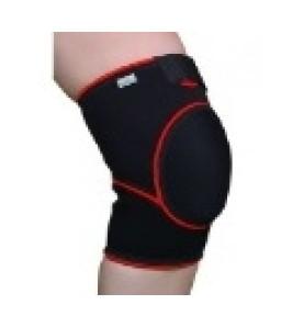 Orteza de genunchi mobila cu genunchi inchis si suport rotulian