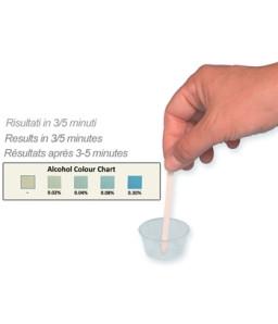 Test alcool din saliva (cutie cu 25 teste)